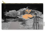 Burning House Destroyed By The Ss Soviet Union Number Two 1941 Color Added 2016 Carry-all Pouch