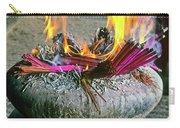 Burning Joss Sticks Carry-all Pouch