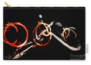 Burning Rings Of Fire Carry-all Pouch