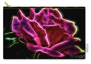 Burning Rose Carry-all Pouch