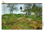 Burnt Island Light Station 11 Carry-all Pouch