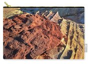 Burnt Orange Wave Of Sandstone In Valley Of Fire Carry-all Pouch