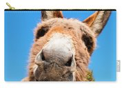 Burro In Cripple Creek Carry-all Pouch