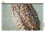 Burrowing Owl Carry-all Pouch by James W Johnson