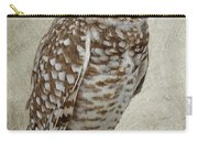 Burrowing Owl Portrait Carry-all Pouch