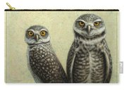 Burrowing Owls Carry-all Pouch