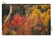 Burst Of Colorado Autumn Color Carry-all Pouch