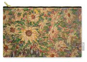 Burst Of Sunflowers. Carry-all Pouch