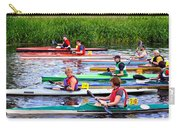 Burton Canoe Race At The Start Carry-all Pouch