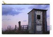 Bus Shelter At Dusk Carry-all Pouch