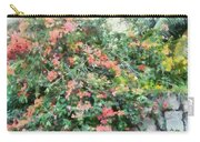 Bush Full Of Flowers. Carry-all Pouch