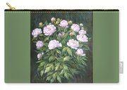 Bush Of Pink Peonies Carry-all Pouch