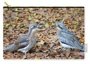 Bush Stone Curlew Pair Carry-all Pouch