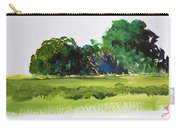 Bushes - English Devon Countryside Carry-all Pouch