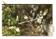 Bushtit On Branch In The Sun Carry-all Pouch