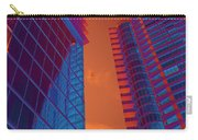 Business Travel, Architectural Abstract Carry-all Pouch