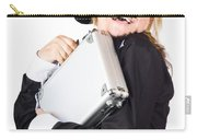 Business Woman In Disguise Carry-all Pouch