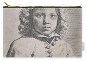 Bust Of A Boy Carry-all Pouch