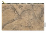 Bust Of A Youth Looking Upward [recto] Carry-all Pouch