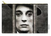 Buster Keaton, Vintage Actor Carry-all Pouch