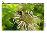 Busy As A Bee Carry-all Pouch by Valeria Donaldson