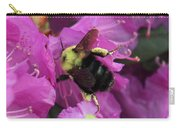 Busy Bee Collecting Pollen On Rhododendron  Carry-all Pouch