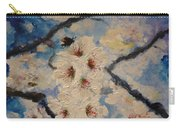 Busy Bumble Bee And Blossom.  Carry-all Pouch