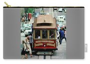 Busy Day On The California Street Cable Car Incline Carry-all Pouch