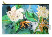 Busy Gardenias Carry-all Pouch