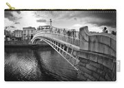 Busy Ha'penny Bridge 2 Bw Carry-all Pouch