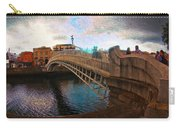 Busy Ha'penny Bridge  Carry-all Pouch
