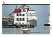 Busy Harbor Of Lorain Carry-all Pouch
