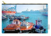 Busy Port Of Valparaiso-chile Carry-all Pouch