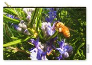Busy Rosemary Honeybee Carry-all Pouch