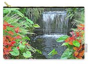 Butchart Gardens Waterfall Carry-all Pouch