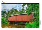 Butchers Mill Covered Bridge Carry-all Pouch