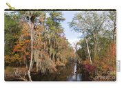 Butler Creek In Autumn Colors Carry-all Pouch