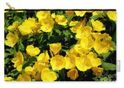Buttercup Flowers Carry-all Pouch