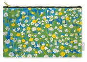 Buttercups And Daisies Carry-all Pouch