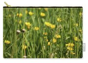 Buttercups And Green Grass At Moore State Park Carry-all Pouch