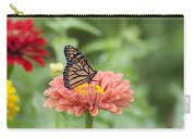 Butterflies And Blossoms Carry-all Pouch by Bill Cannon