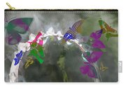 Butterflies And Dew Carry-all Pouch