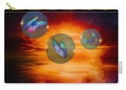 Butterflies At Night Carry-all Pouch