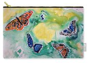 Butterflies Carry-all Pouch