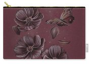 Butterflies Flying Through The Cosmos Carry-all Pouch