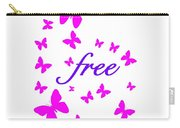Butterflies Free Carry-all Pouch