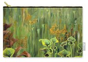 Butterflies In The Bog Carry-all Pouch