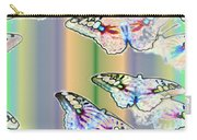Butterflies In The Vortex Carry-all Pouch