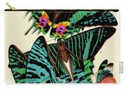 Butterflies, Plate-7 Carry-all Pouch