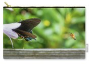 Butterfly And Bee Carry-all Pouch